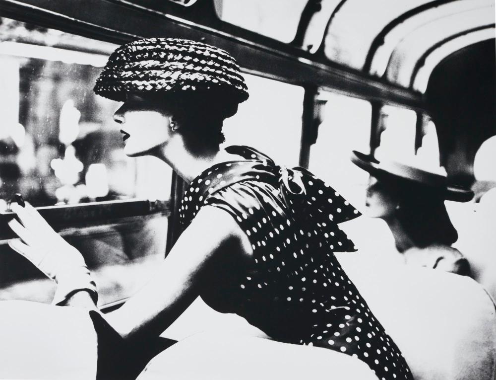 LILLIAN BASSMAN | More Fashion Mileage per Dress, New York, 1956