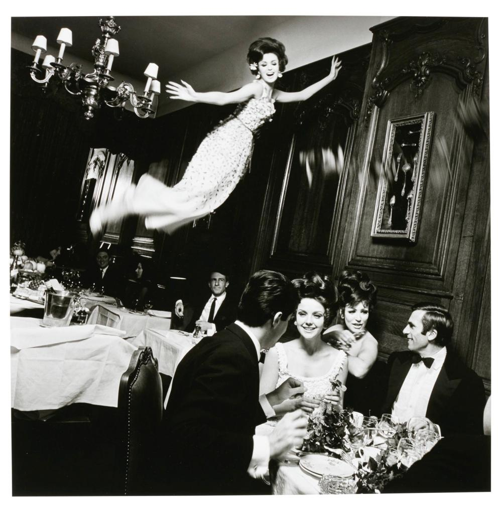 MELVIN SOKOLSKY   Sidekick, Harper's Bazaar, Paris, 1965