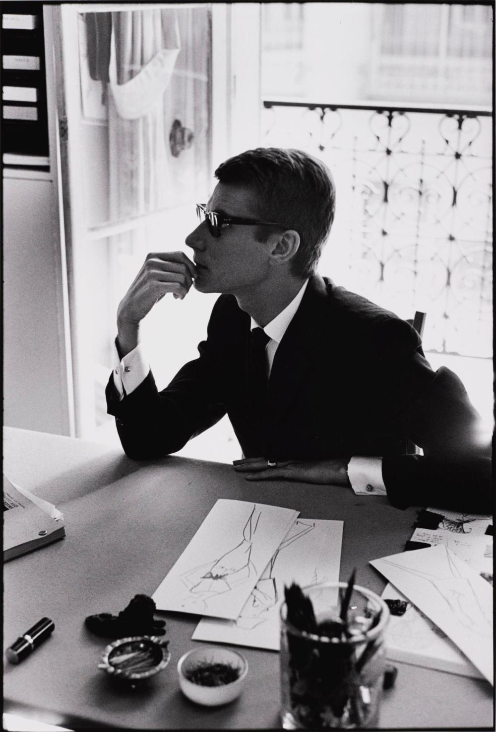 MARC RIBOUD | Yves Saint Laurent, Paris, 1964