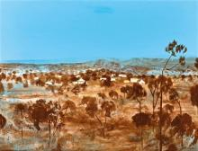 § RAY CROOKE 1922-2015 Chillagoe, Queensland oil on canvas on board 75 x 101.5 cm