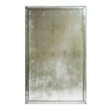 An Art Deco style wall mirror, commissioned by Alan Wanzenberg, New York 152 x 96.5 cm