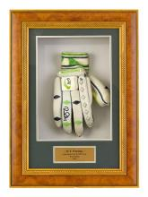 A Kookaburra batting glove, used during the Australian Cricket Test and One Day International tour to the West Indies in 2003, signe...