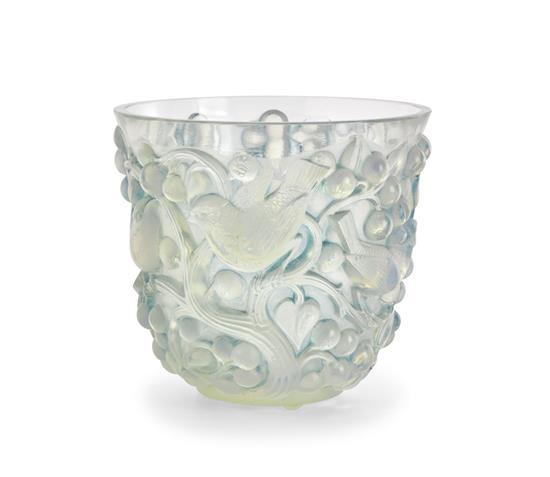 A René Lalique 'Avallon' vase, designed 1927