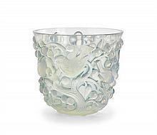 A René Lalique 'Avallon' vase, designed 1927