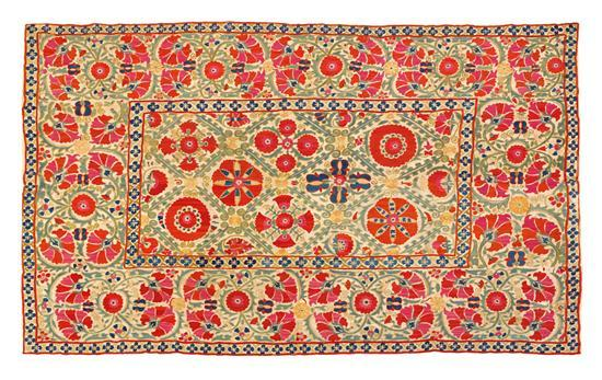 A Bokhara Suzani, South West Uzbekistan, second half 19th century