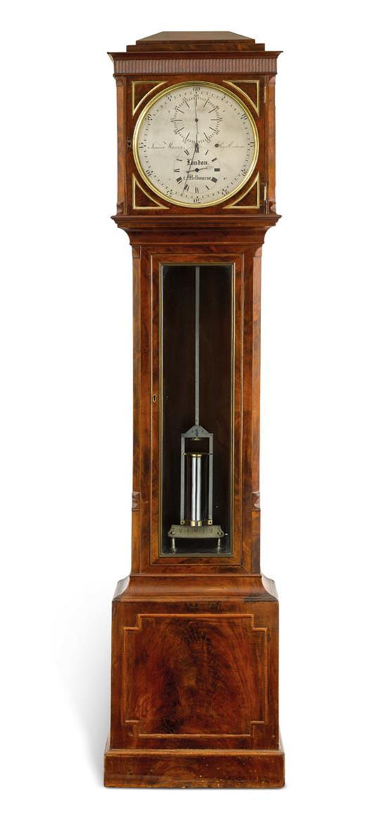A floor standing regulator clock by James Murray, circa 1850 (4)