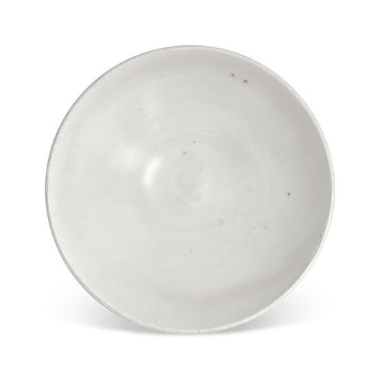 A small white-glazed bowl, 10th century