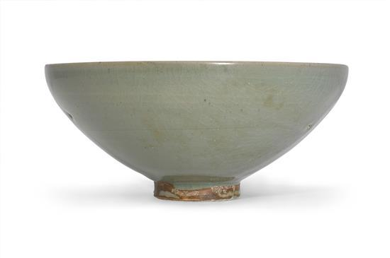 A green 'jun' bowl Song dynasty