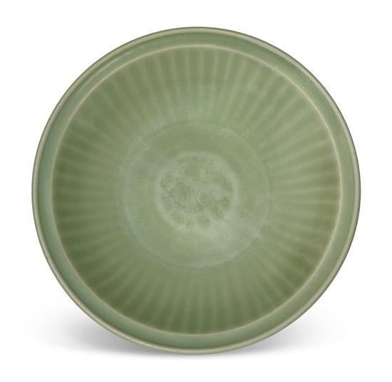 A 'Longquan' celadon dish Ming dynasty