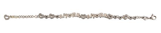 18ct white gold and diamond ''Armore'' bracelet, Pasquale Bruni