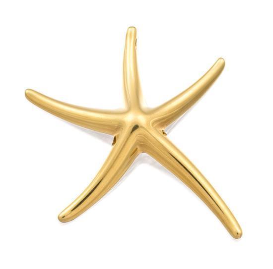 18ct gold ''Starfish'' pendant, Elsa Peretti for Tiffany & Co.