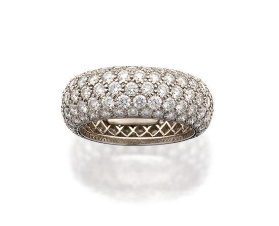 Platinum and diamond ''Etoile'' ring, Tiffany & Co.