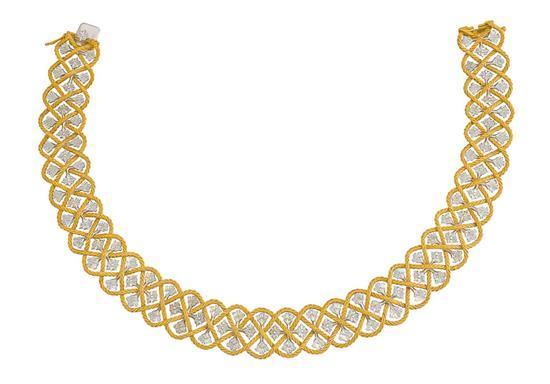 18ct bi-colour gold ''Étoilée'' necklace, Gianmaria Buccellati