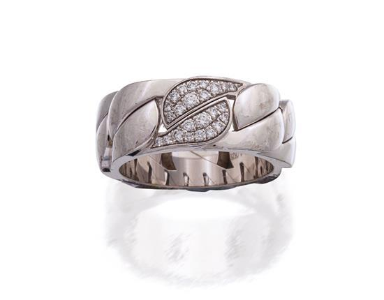 18ct white gold and diamond ''La Dona'' ring, Cartier