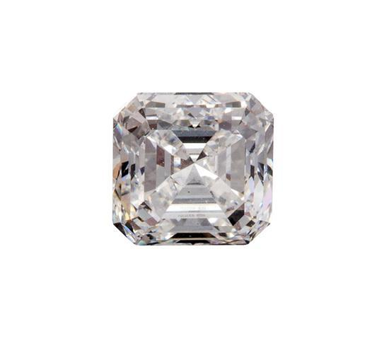 Emerald-cut diamond