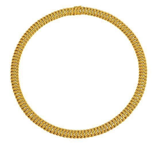 18ct gold neckchain