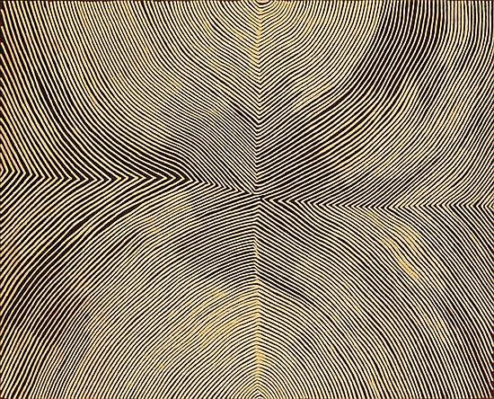 Kanya Tjapangati born circa 1950 KIRRITJINNA (A ROCKHOLE SITE NORTH OF JUPITER WELL) (2003) synthetic polymer paint on linen