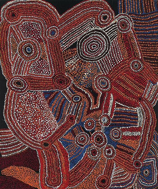 Jimmy Baker circa 1915-2010 KALAYA MAPITJA (2007) synthetic polymer paint on canvas