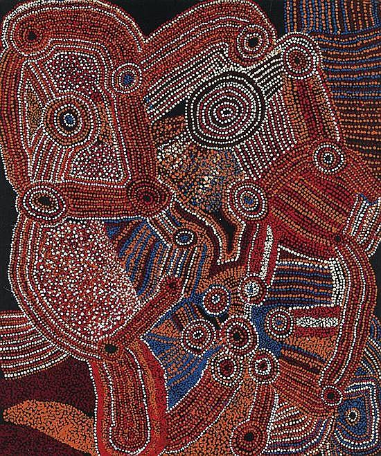 Jimmy Baker circa 1915-2010 KALAYA MAPITJA (2007) synthetic polymer paint on canvas
