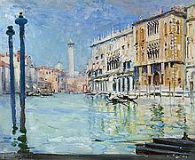 ARTHUR STREETON 1867-1943 Palaces in Sunlight (1908) oil on canvas
