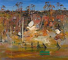 ARTHUR BOYD 1920-1999 Shoalhaven with River (1988) oil on canvas