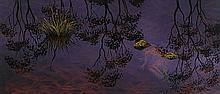 LIN ONUS 1948-1996 Garkman (1994) synthetic polymer paint on card