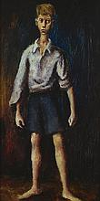 RUSSELL DRYSDALE 1912-1981 Country Boy (1941) oil on board