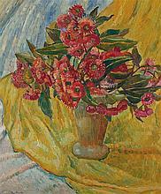 GRACE COSSINGTON SMITH 1892-1984 Gum Blossom 1945 oil on pulpboard