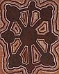 Uta Uta Tjangala circa 1926-1990 OLD MAN STORY (1973-1974) synthetic polymer paint on artist board