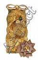 18CT GOLD BROOCH, CARTIER