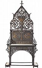 Christopher Dresser Coalbrookdale 'Boreas' hall stand