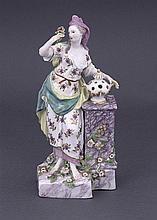A Chelsea figure, circa 1760