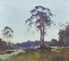PENLEIGH BOYD 1890-1923 'It Stood - A Thing Apart - Unsullied by the Common Growth' 1922 oil on canvas 71.5 x 81.5 cm