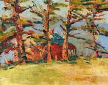ARTHUR BOYD 1920-1999 Wilsons Promontory 1939 oil on canvas on board 38 x 48.5 cm