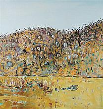 FRED WILLIAMS 1927-1982 You Yangs Landscape (1978) oil on canvas