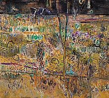 FRED WILLIAMS 1927-1982 Forked Tree, Kew Billabong (1975) oil on canvas