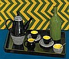 CRISS CANNING born 1947 The Arthur Merric Boyd Coffee Set (2003) oil on canvas, Criss Canning, Click for value