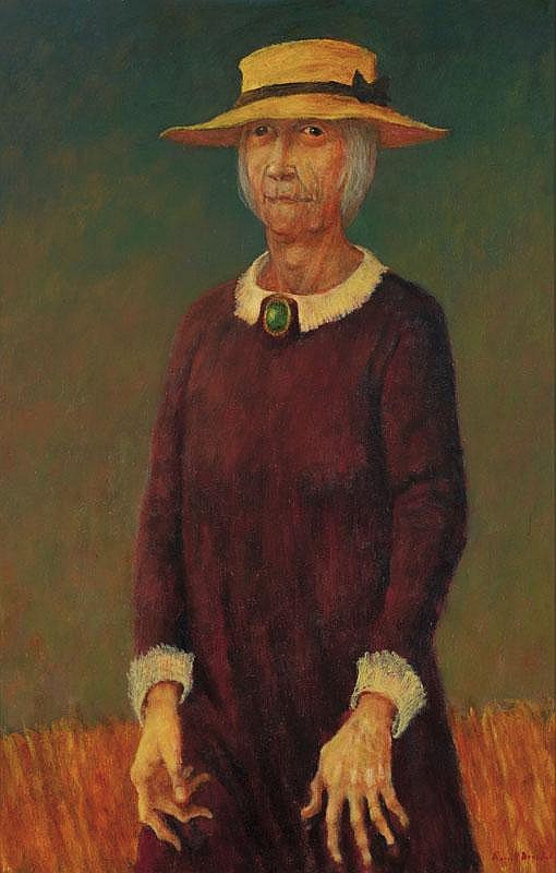 Russell Drysdale 1912-1981 GRAN (1971) oil on composition board