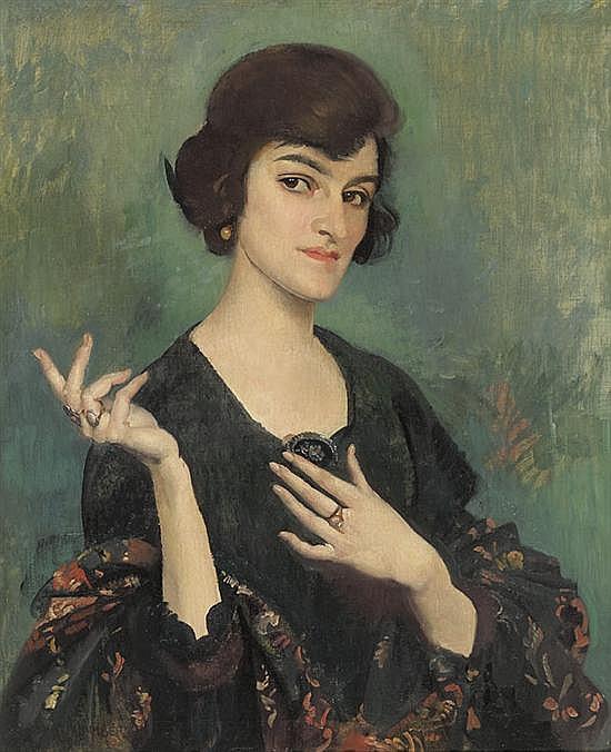 George W. Lambert 1873-1930 DAUNE O'NEILL (1917) oil on canvas