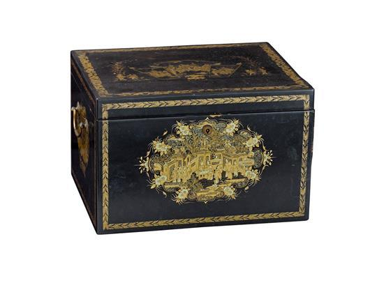 Decorative Wooden Boxes Australia : A chinoiserie lidded table box early th century cm hig