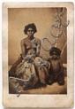 C.E. Bevan AUSTRALIAN ABORIGINES (CARTE DE VISTE PHOTOGRAPHS) (1868) albumen print