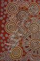 Anatjari Tjakamarra circa 1938-1992 SONS AND ORPHANS NEAR KURLKURTA (1984) synthetic polymer paint on linen