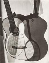 MAURICE TABARD 1897-1984 Abstraction with Guitar 1932 gelatin silver print 22 x 16.8 cm