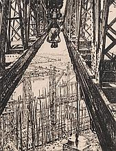 MUIRHEAD BONE (1876-1953) PENCIL SIGNED LITHOGRAPH