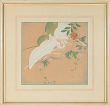 ELYSE ASH LORD (1900-1971) LEDA AND THE SWAN