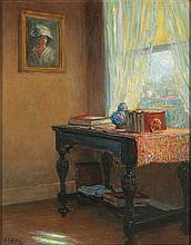 GEORGE VAN MILLETT (1864-1953) OIL ON CANVAS