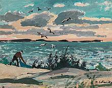 NICOLAI CIKOVSKY (1894-1984) OIL ON PANEL