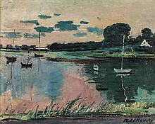 NICOLAI CIKOVSKY (1894-1984) OIL ON CANVAS