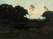 A LARGE CARL HENRIK JONNEVOLD (1856-1955) OIL