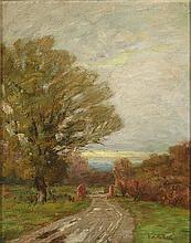 KATHERINE ALLMOND HULBERT (1860-1937) OIL ON ARTIS